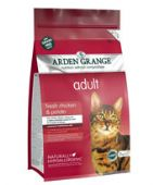 Arden Grange Grain Free Adult Chicken & Potato Dry Cat Food 400g, 2kg or 4kg